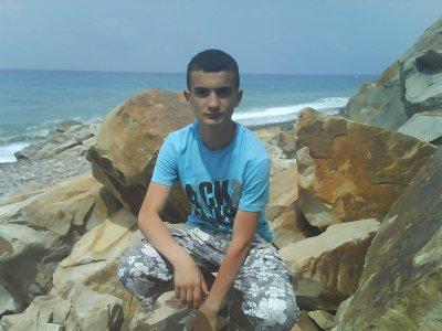 moi en plage