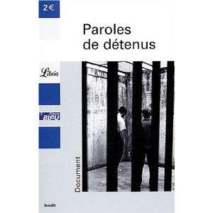 Paroles de detenus