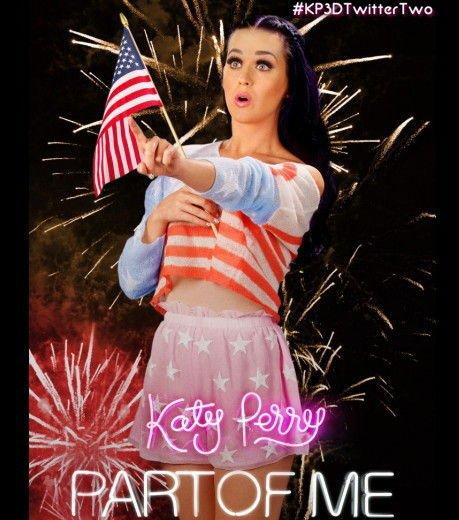 Katy Perry : Les différentes affiches de Part Of Me 3D