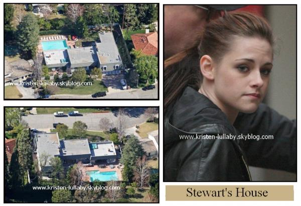La magnifique et richissime maison des Stewart.