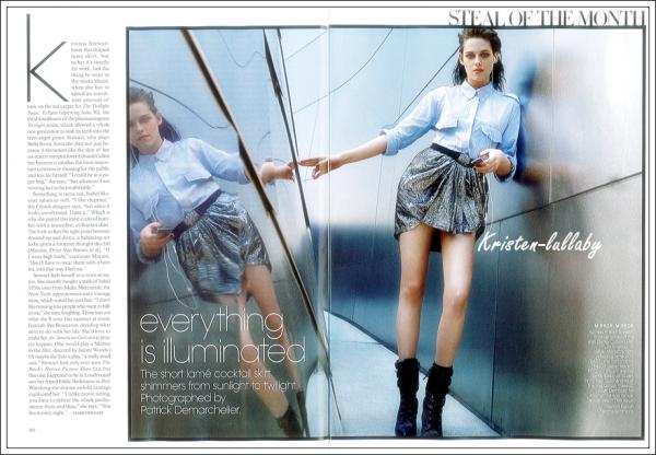 17 Mai 2010 : Kristen dans Vogue.