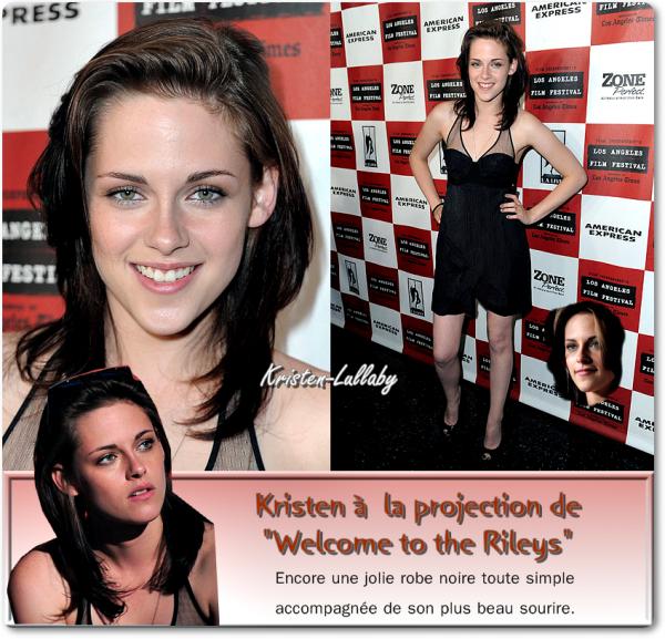 "25 Juin 2010 : Projection de ""Welcome to the Rileys"" au Laff."