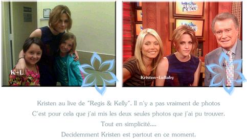 "29 Juin 2010 : Live ""Regis & Kelly""."