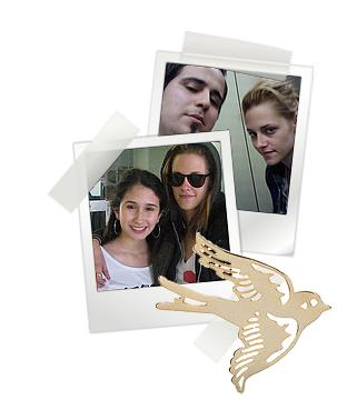 Kristen est en Argentine pour le tournage de On the road comme vous le savez déjà...Des fans ont encore eu l'occasion de la voir et de dégoté quelques autographes. A noter que la bas, il neige. Et kris qui sort habillée très légèrement (à en voir ses sous vêtements )
