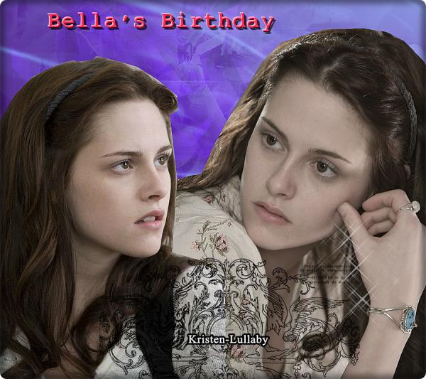 13 Septembre Anniversaire de Bella