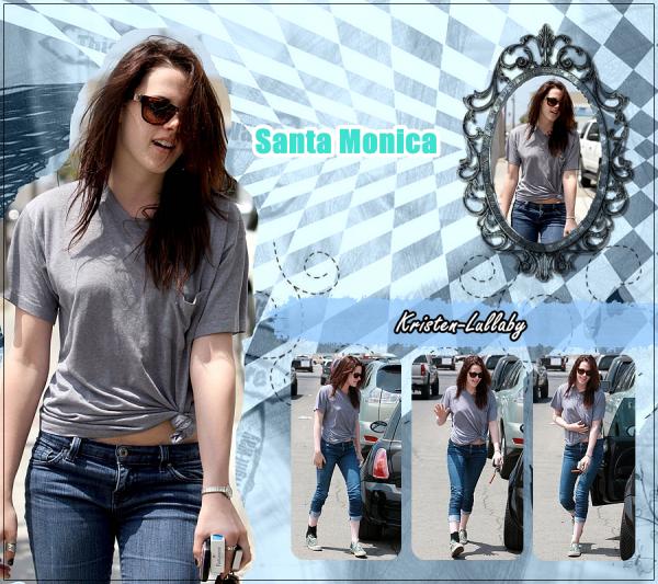 9 Juin 2009 : Kris à Santa Monica J'adore ces photos, Kristen telle que je l'aime ♥