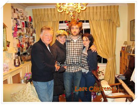 Une nouvelle photo vient d'apparaitre et nous montre Kristen & Rob Noël dernier chez les parents de celui-ci.