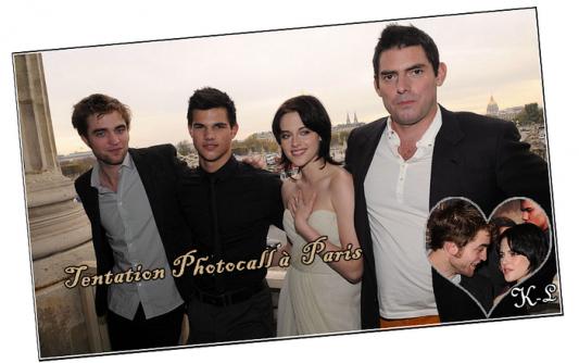 10 Novembre 2009 : Le trio débarque à Paris pour la promotion de Tentation (New Moon).