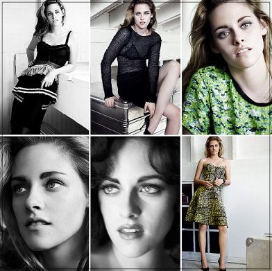 Kristen fait la couverture du magazine Vogue US de Février 2011 ! Habillée par : Proenza Schouler .