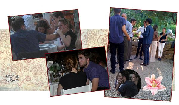 Des nouvelles photos du mariage auquel Kris & Rob avaient assisté en aout 2010 viennent d'apparaître.