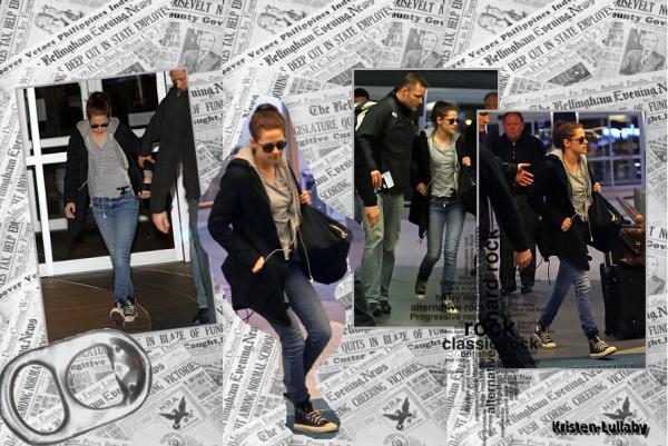 Mercredi 20 Avril 2011 : Kristen quitte Vancouver.
