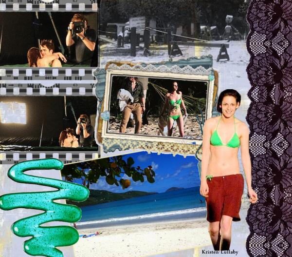 Vendredi 22 Avril 2011 : Kris & rob ont refait quelques scènes pour Breaking Dawn.