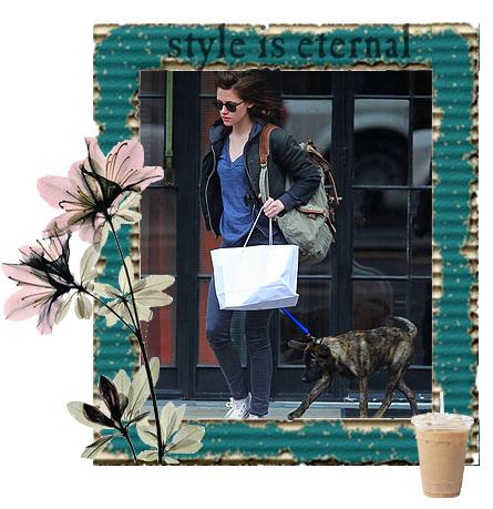 Mercredi 4 Mai 2011 : Kristen dans les rues de NY.
