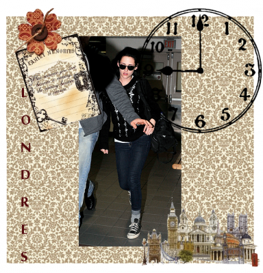 Vendredi 11 Novembre 2011 : Kristen arrive à Lax.
