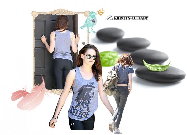 Mardi 28 Juin 2011 : Kristen allant à un cours de yoga dans le West Hollywood.