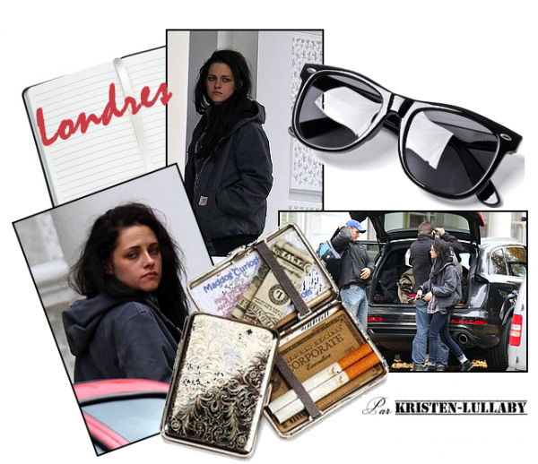 Robsten vu à Londres.