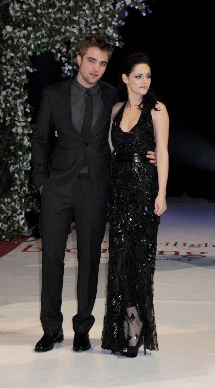 Mercredi 16 Novembre 2011 : Avant première de Breaking Dawn à Londres.