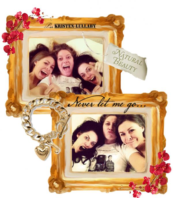 Kristen avec ses deux meilleures amies Suzie et Lindsay.(Décembre 2011)