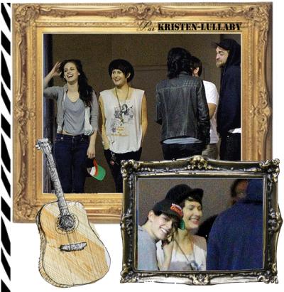 Lundi 26 Mars 2012 : Kristen , Robert, Scout Taylor-Compton et d'autres amis au concert privé de Katy Perry.