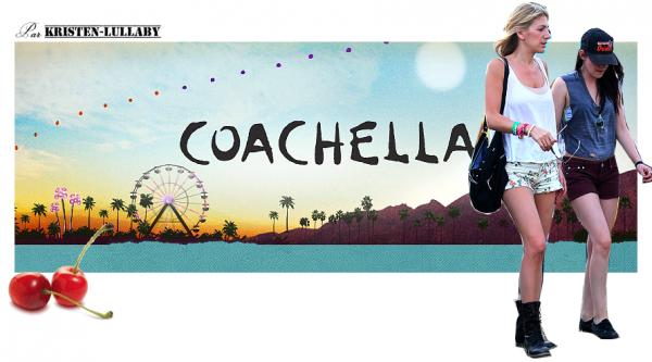 Samedi 21 Avril 2012 : Kristen au festival de musique Coachella.