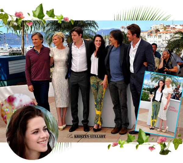 Mercredi 23 Mai 2012 : Kristen et le cast d'OTR au photocall et à la conférence de presse.