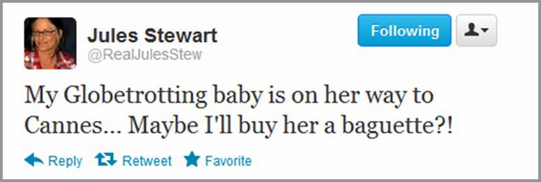 Mardi 22 Mai 2012 : Tweet de Mama Stew .