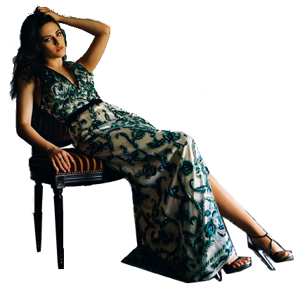 "Kristen en couverture du magazine ""Madame Figaro""."