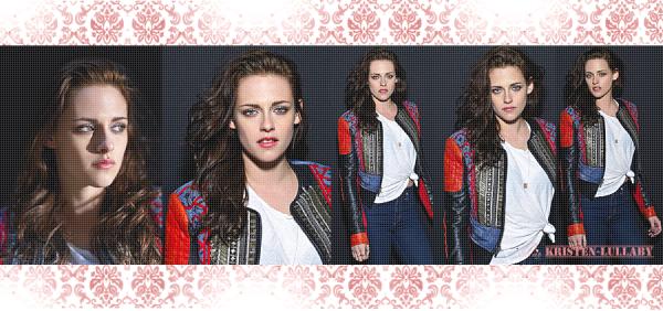 """Portraits de Kristen pour """"Usa Today""""."""