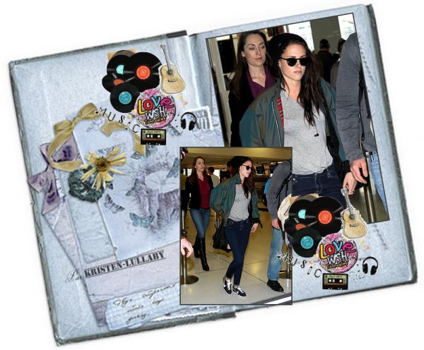 Mercredi 20 juin 2012 : Kristen à l'aéroport de Sydney direction Los Angeles. Jeudi 21 Juin 2012 : Kristen arrivant à Los Angeles. Jeudi 21 Juin 2012 : Rob & Kris quittant un concert.