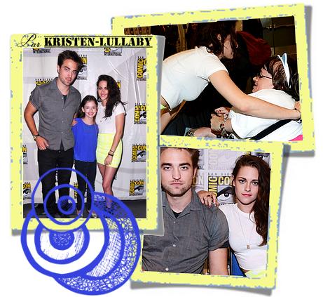 Jeudi 12 Juillet 2012 : Kristen Stewart et le cast de Breaking Dawn Part 2 étaient pour la dernière fois présents au Comic Con à San Diego.