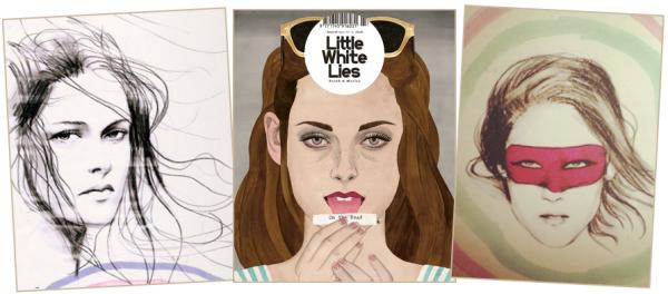 Kristen dans le magazine Little White Lies (numéro de sept/oct). - Little White Lies est un magazine bi-mensuel, britannique sur les films indépendants qui comporte des écrits, illustrations et photographies liées au cinéma.  Traduction : Kristen Stewart France.