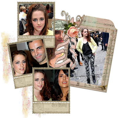 Mercredi 26 Septembre 2012 : Kristen arrive à Paris. Jeudi 27 Septembre 2012 : Kristen au défilé Balenciaga.