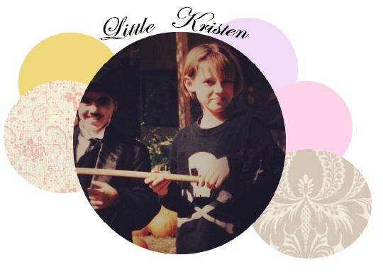 Une ancienne photo de Kristen vient d'apparaitre :