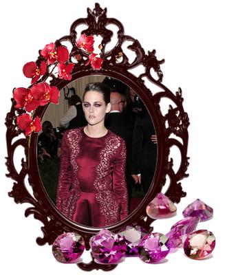 Lundi 6 Mai 2013 : Kristen au Met Gala à New York :