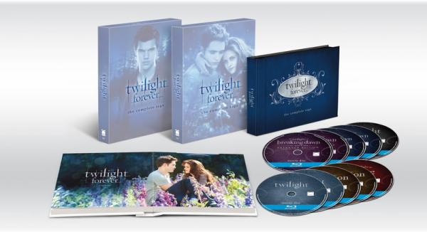 Twilight : un nouveau coffret :