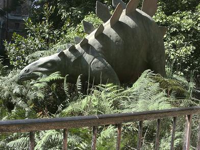 Ménagerie du Jardin des Plantes - dinosaure