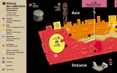 Le Musée du Quai Branly - plan 1/2