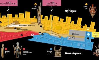 Le Musée du Quai Branly - plan 2/2
