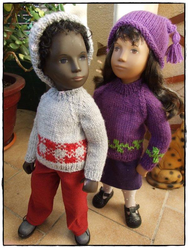 Toujours en mode tricot!