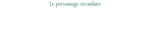 Le personnage secondaire, Interview