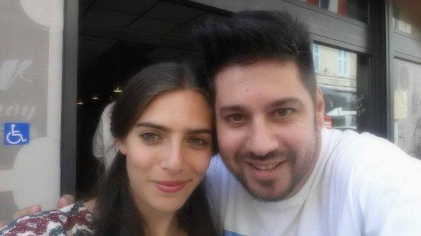 Avec ma copine Zoe Corraface !!