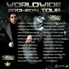 WORLDWIDE TOUR !!