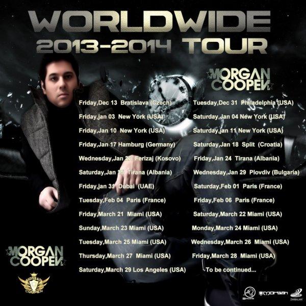 WORLDWIDE TOUR !!