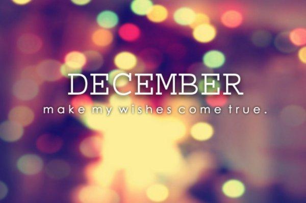 December *-* !