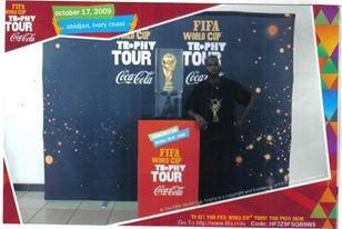 souvenir avec la coupe du monde << Afrique du sud 2010>>