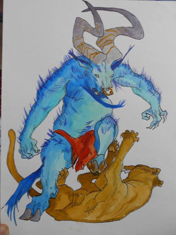 Demon VS Lionne