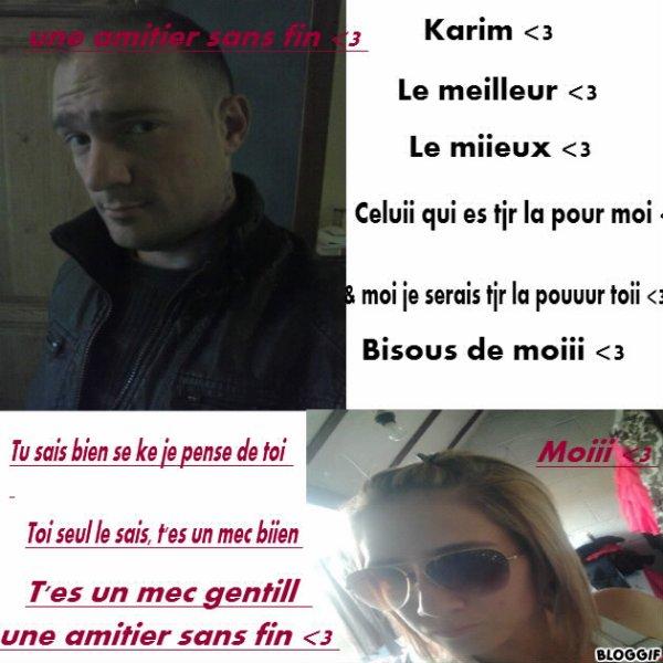 Karim & moi
