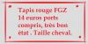 Tapis rouge/Kaki