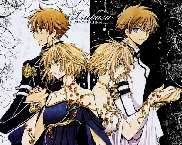 shaolan et sakura et leurs clones