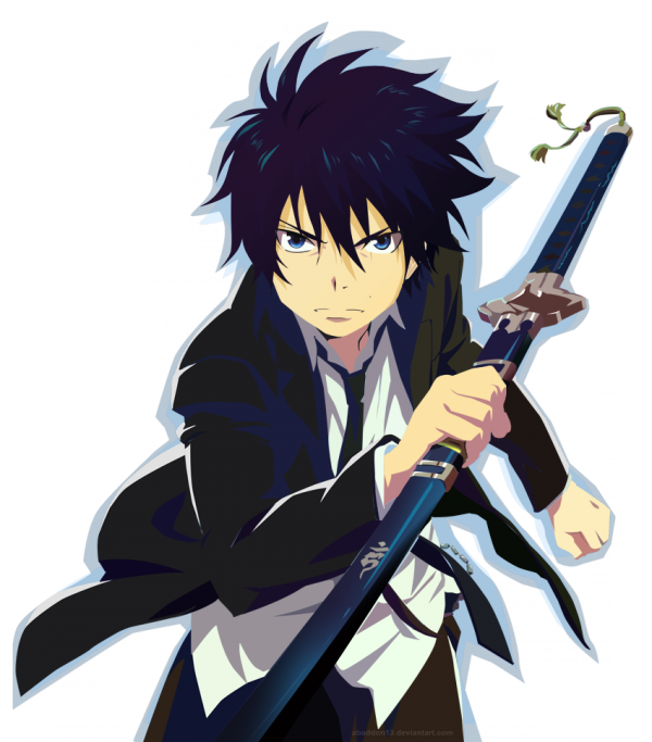 rin de ao no exocist/blue exorcist